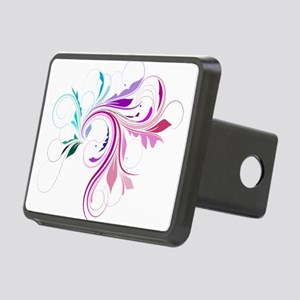 flourish Rectangular Hitch Cover