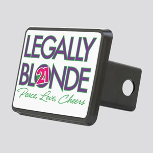 Legally Blonde 21 Rectangular Hitch Cover