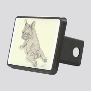 French Bulldog Baby Rectangular Hitch Cover