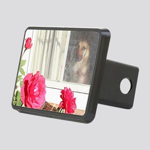 Tara's Rosey Window Rectangular Hitch Cover