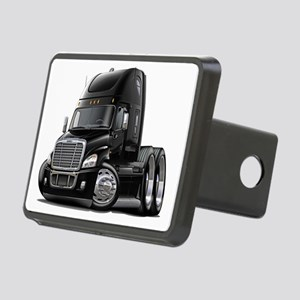 Freightliner Black Truck Rectangular Hitch Coverle