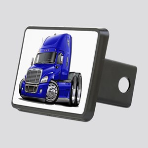 Freightliner Blue Truck Rectangular Hitch Coverle)