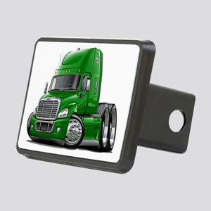 Freightliner Green Truck Rectangular Hitch Coverle