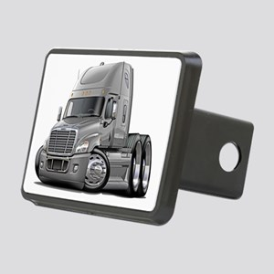 Freightliner Silver Truck Rectangular Hitch Coverl