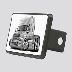 Freightliner White Truck Rectangular Hitch Coverle