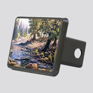 Yosemite Stream Rectangular Hitch Cover