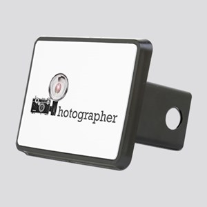 Photographer-2 Rectangular Hitch Cover