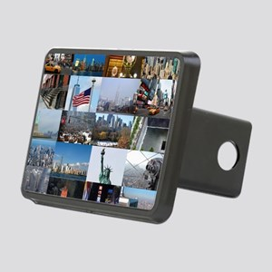 New York Pro Photo Montage Rectangular Hitch Cover