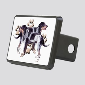 Coonhounds and Paws Rectangular Hitch Cover