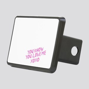 Gossip girl light Rectangular Hitch Cover