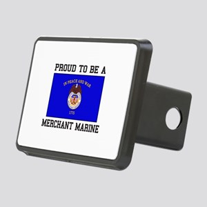 Proud to be a Merchant Marine Hitch Cover