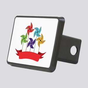 Pinwheel Banner Hitch Cover