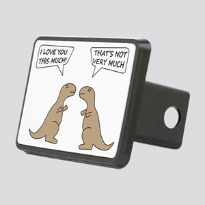 T-Rex Feelings, Hilarious Rectangular Hitch Cover