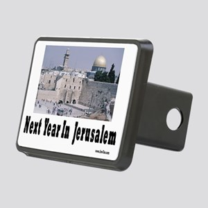 Next Year In Jerusalem Rectangular Hitch Cover
