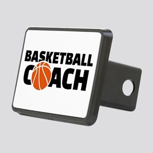 Basketball coach Rectangular Hitch Cover