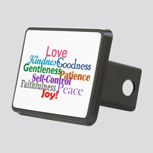 Fruit of the Spirit Rectangular Hitch Cover
