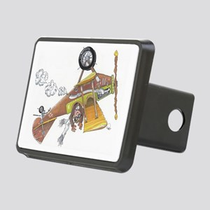 Hands Free Flying Rectangular Hitch Cover