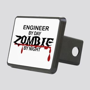Engineer Zombie Rectangular Hitch Cover
