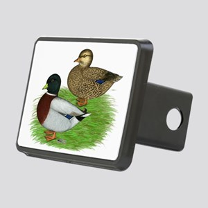 Grey Call Ducks Rectangular Hitch Cover