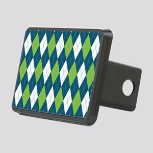 Argyle Pattern Rectangular Hitch Cover