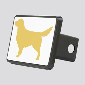 goldenretriever Rectangular Hitch Cover