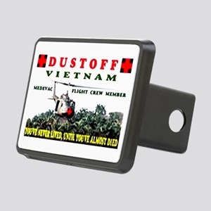 DUSTOFF Rectangular Hitch Cover