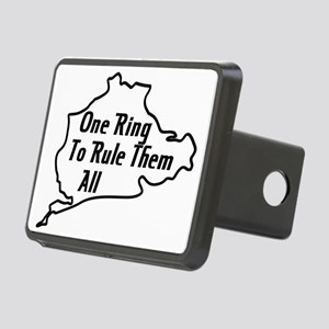 Nurburgring Rectangular Hitch Cover