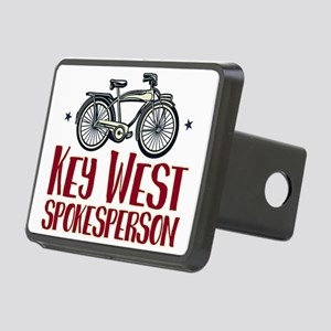 Key West Spokesperson Rectangular Hitch Cover