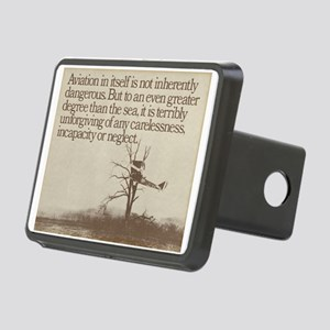 "WWI ""Plane in a Tree"" Rectangular Hitch Cover"