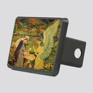 Vintage Religious Tapestry Rectangular Hitch Cover