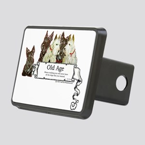 Old age 2 mug Rectangular Hitch Cover