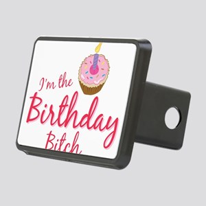BDAYBitch2 Rectangular Hitch Cover