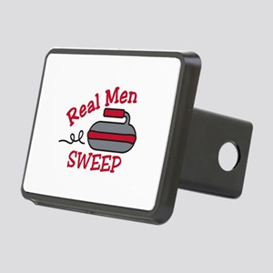 Real Men Sweep Hitch Cover