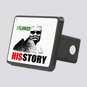 Black History flunk Rectangular Hitch Cover