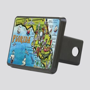 FloridaMap Blanket Rectangular Hitch Cover