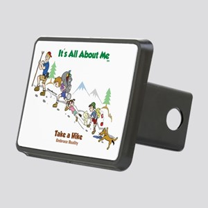 take a hike-FINAL-color2 Rectangular Hitch Cover