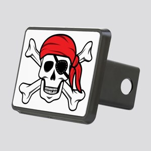 Jolly Roger Pirate Rectangular Hitch Cover