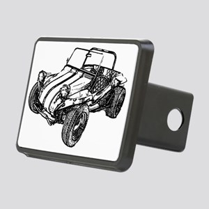 dune buggy pencil Rectangular Hitch Cover