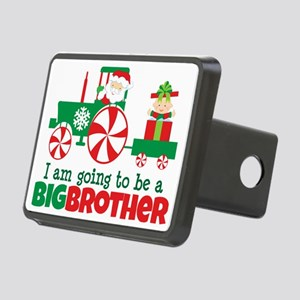 Santa Tractor Big Brother  Rectangular Hitch Cover