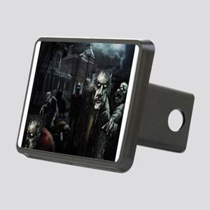 Zombie Party Rectangular Hitch Cover