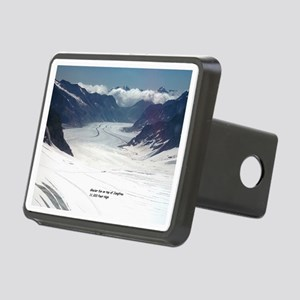 Glacier on top of Jungfrau Rectangular Hitch Cover