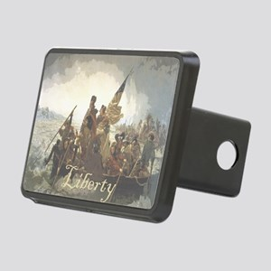 Crossing The Delaware Libe Rectangular Hitch Cover