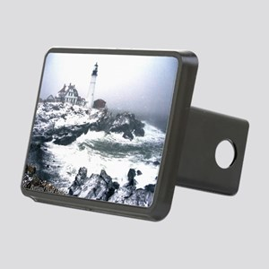 PortlandHeadlight3 Rectangular Hitch Cover