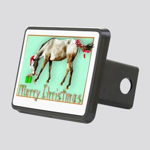Tayos Christmas Package Rectangular Hitch Cover