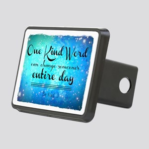 One Kind Word Rectangular Hitch Cover