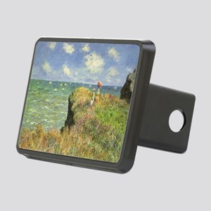 Cliff Walk at Pourville by Rectangular Hitch Cover