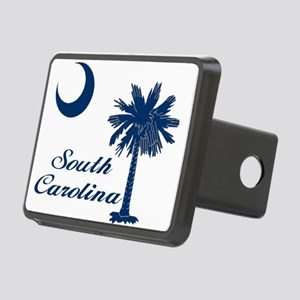 Blue SC Rectangular Hitch Cover