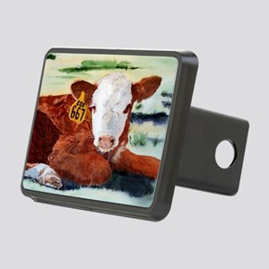 calfflipflop Rectangular Hitch Cover