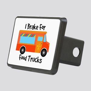 I Brake For Food Trucks Hitch Cover