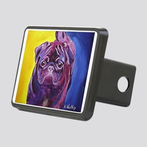Pug #2 Rectangular Hitch Cover